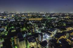 練馬区役所からの夜景1