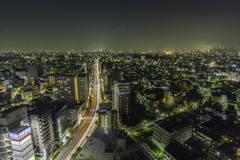 練馬区役所からの夜景4