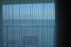 ホテルの静かな朝