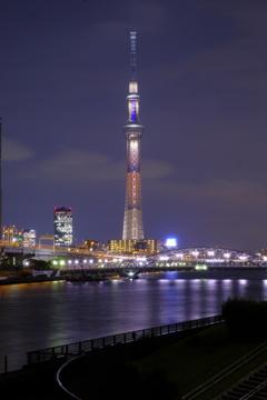 東京スカイツリー&隅田川リフレ