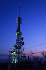 眉山 NHK電波塔