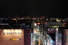 博多駅屋上から天神方面