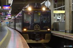 大阪阿部野橋駅にて青の交響曲