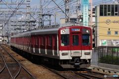 高安駅にて近鉄1620系
