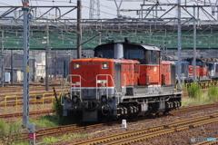 稲沢駅にてDD51