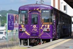 貴生川駅にて信楽高原鐡道のSKR310形