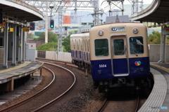 大物駅にて阪神5000系