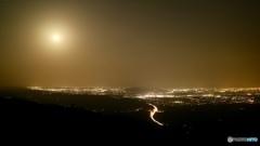 遙照山 夜景