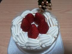 クリスマスケーキ独り占め?