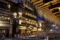 銀山温泉冬-2