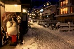銀山温泉冬-1