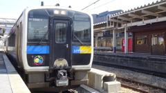 JR東日本 キハE200形(小淵沢4番ホーム)