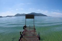 沖島 島から滋賀を眺める。