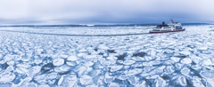北海道 網走 流氷