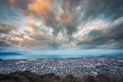 香貫山からの眺め
