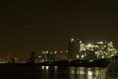 臨海の夜景