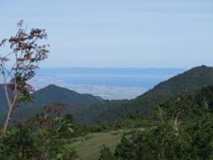 富山平野と富山湾と能登半島と・・・・大辻山