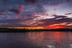 Dramatic Sunset!!