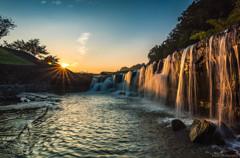 [ Golden Waterfall ]