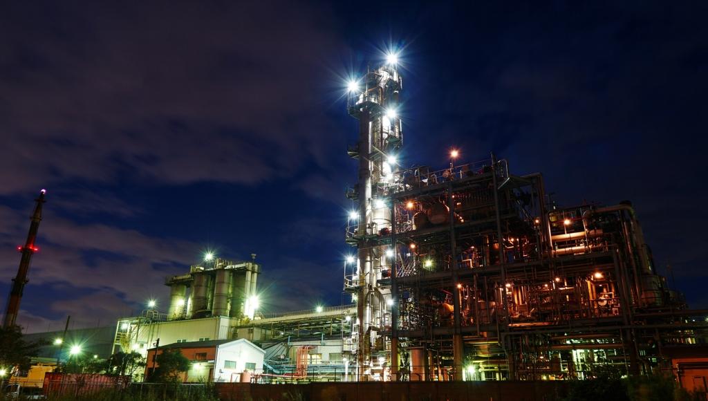 川崎工場夜景①