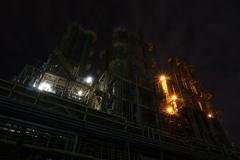 尼崎の工場夜景