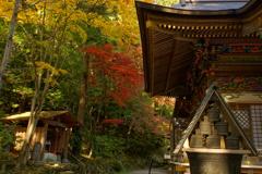 2017年11月、宝登山神社で