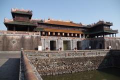 2017年3月、ベトナム・フエの王宮で(2)