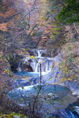 2006年10月、西沢渓谷にて