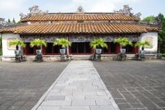 2017年3月、ベトナム・フエの王宮で