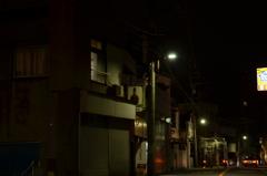 人通りの少ない下町の夜 〜その3〜