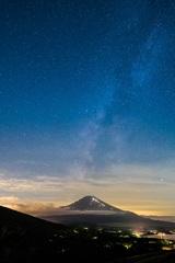 星空富士山