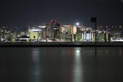対岸の夜景