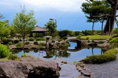 南の日本庭園