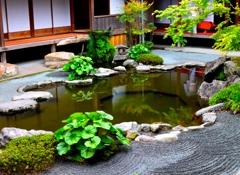 南の日本庭園②