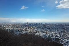 円山頂上からの眺望