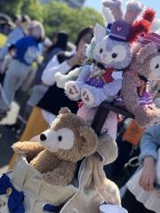 ディズニー35周年でパレード参加