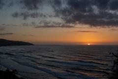 サンセット 日本海