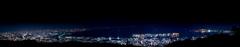 六甲山夜景パノラマ