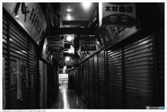北九州市小倉 黄金市場 Nikon_FE_Kodak_400TX__41