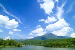 高原の風と夏の空