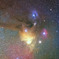 望遠レンズによるアンタレス付近