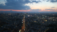 六本木ヒルズ展望台からのMount Fuji ①