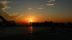 想い出の夕陽