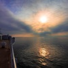 朝靄の航海