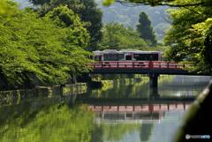 ある5月の暑い日の京都