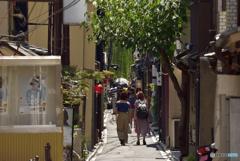 気温40度の日の京都