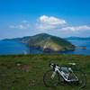 知夫里島から望む西ノ島