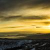八ヶ岳と朝焼け