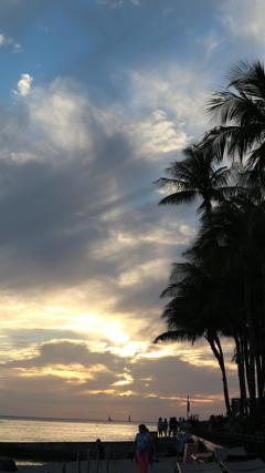 Hawai 夕暮れ