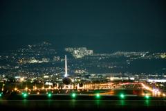 伊丹空港の夜